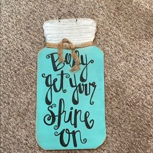 "Other - ""Baby Get Your Shine On"" Door or Wall Hanger"